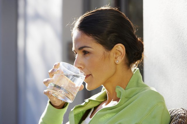 drink water with meals