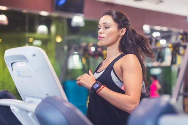Cardio equipment includes the treadmill.