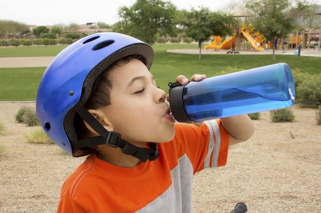 Encourage your child to drink water.