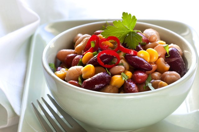 Beans are a filling option for low calorie protein.