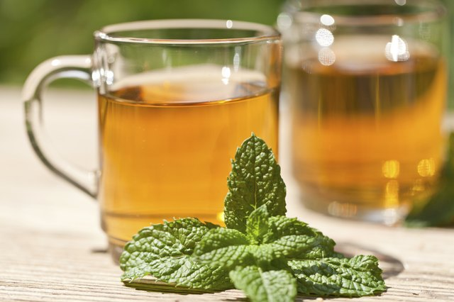 Avoid mint tea.