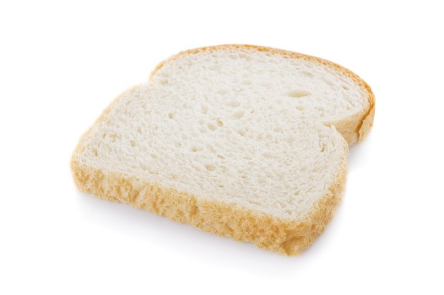 White bread has refined grains.