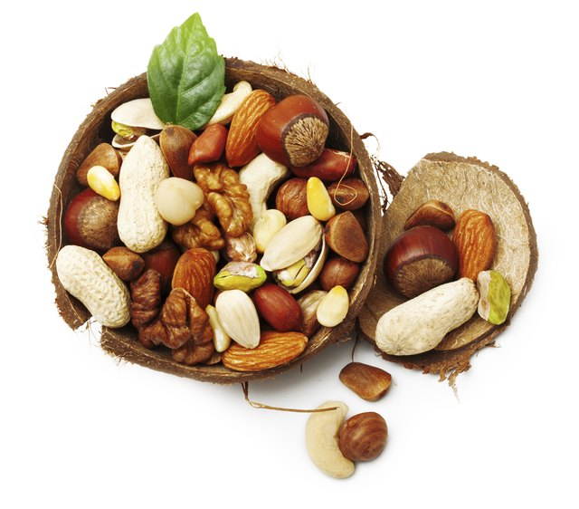 Nuts and seeds.
