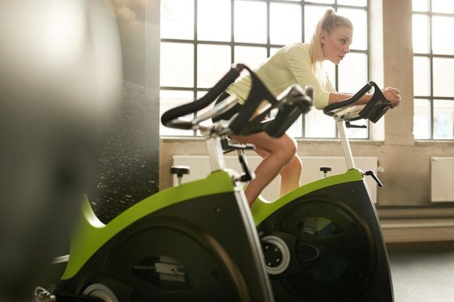 How Many Calories Are Burned On A Stationary Bike In 30