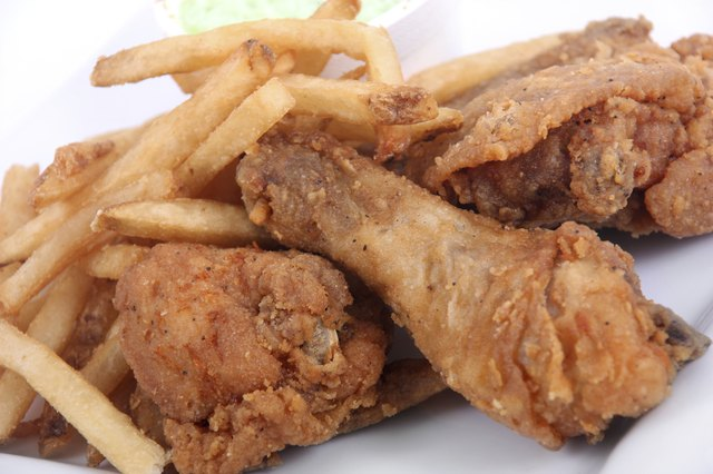 Remove the skin to make fried chicken healthier.
