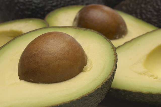 you can get 2 to 6 micrograms of biotin from an avocado