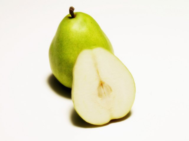 Pears contain sorbitol naturally.