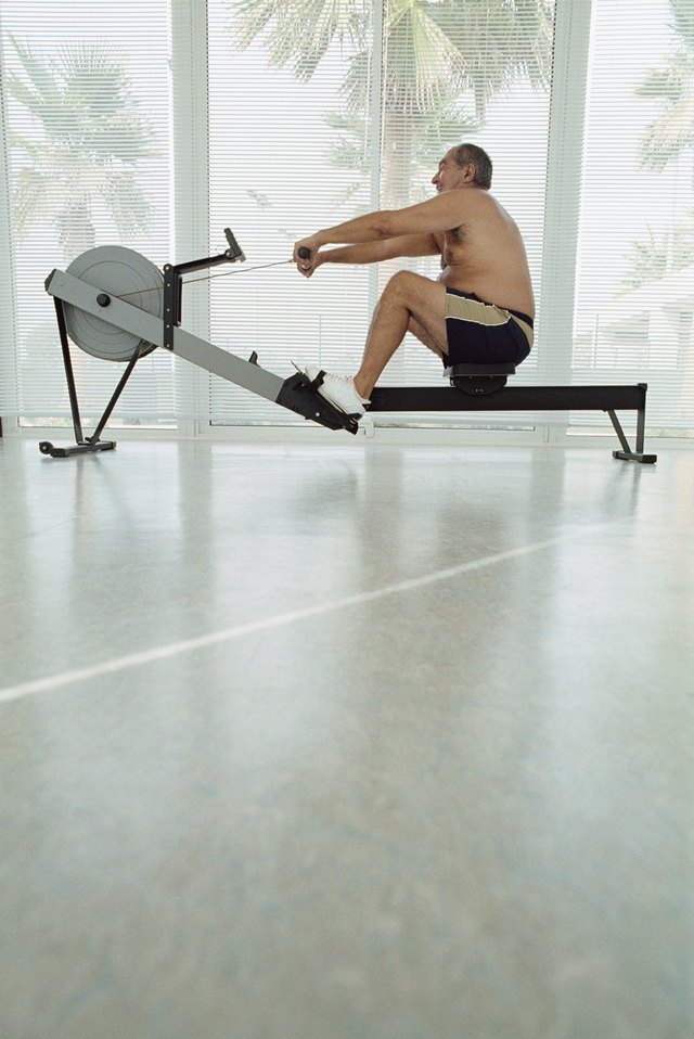 Cardio exercises like rowing exercise the back more than others.