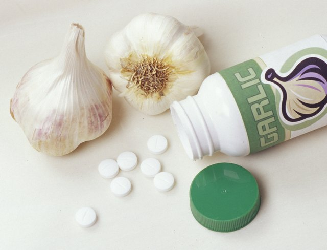 Odor-free garlic supplements might not be as effective as pills.