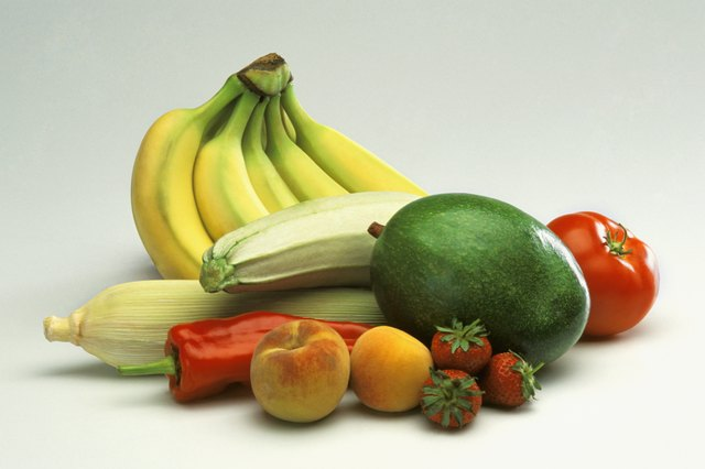 Eat fresh fruits and vegetables.