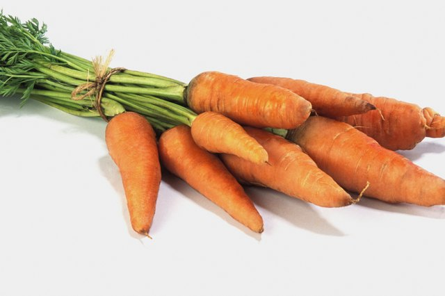 Carrot bunch.