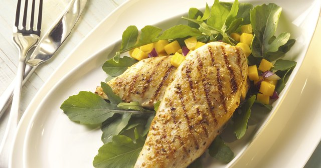 Consume lean protein like chicken breasts.