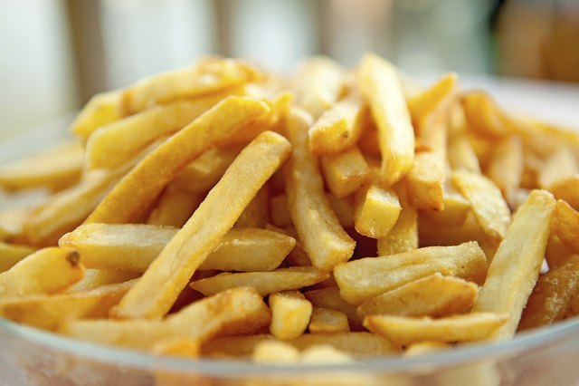 fried food like french fries may contain trans-fats