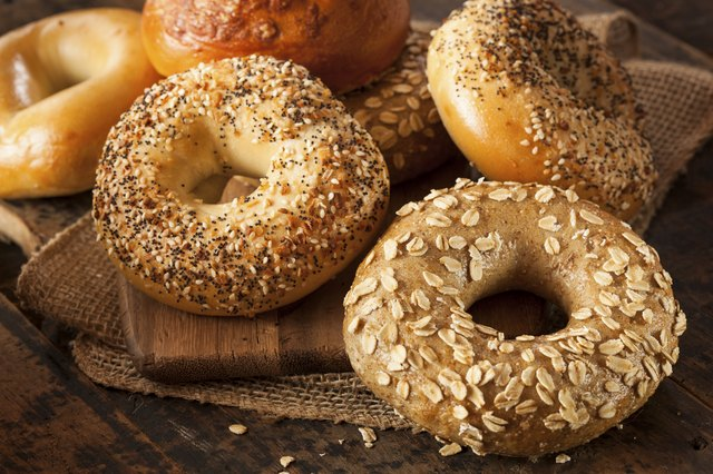 bagels rate a 72 on the Glycemic Index