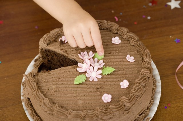 It may be good to limit your intake of high-fat foods such commercially prepared cakes.