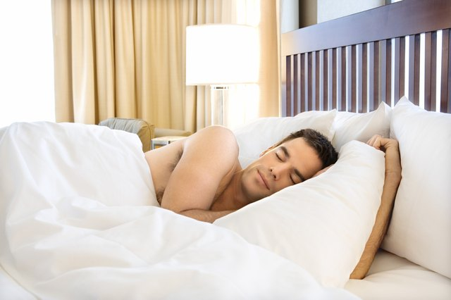Get eight hours of sleep the night before a workout or a big game.