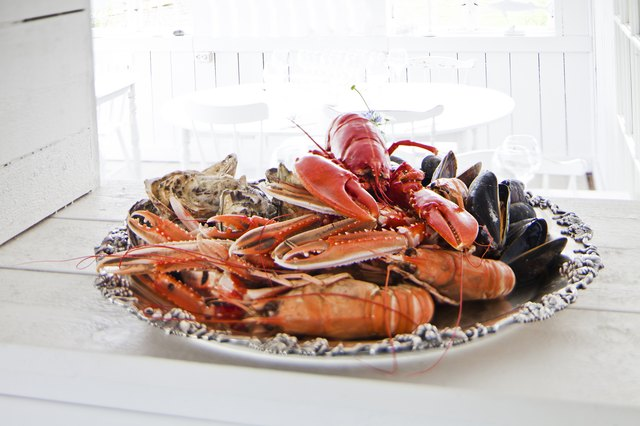 Seafood is a rich source of selenium.