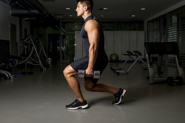 Split squats work one leg at a time.