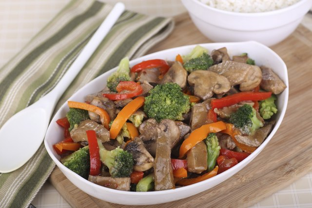 beef with broccoli and peppers