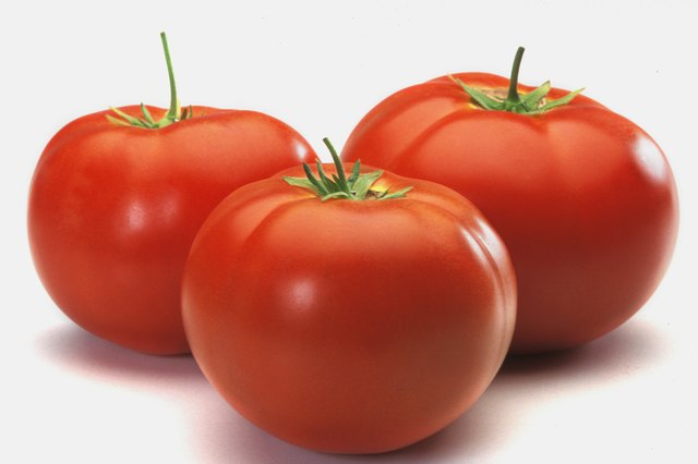 Tomatoes contain vitamin E.