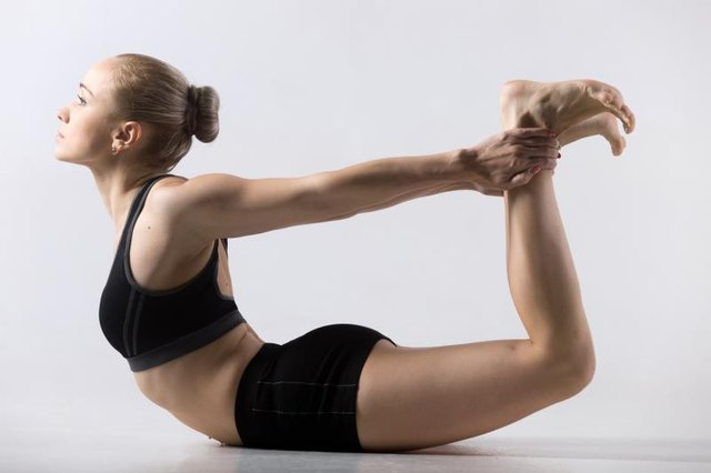 Be careful to avoid hyper-extending your joints when doing hot yoga.
