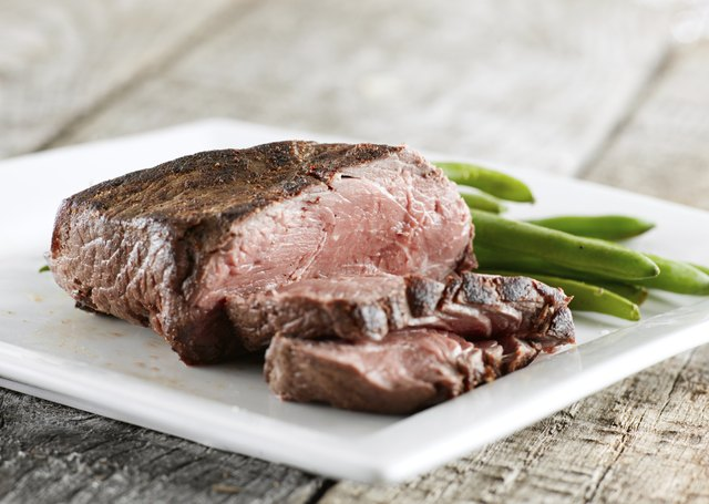 Choose lean cuts of meat and reduced-fat dairy.