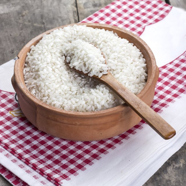 some rice is fortified with iron