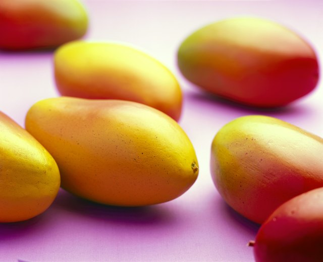 mangos have citric acid but much less than many other fruits