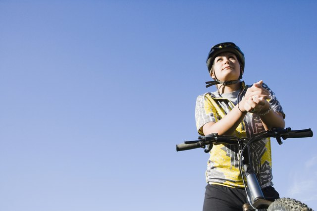 Find activities that you enjoy, like bike riding which is a great cardio exercise.