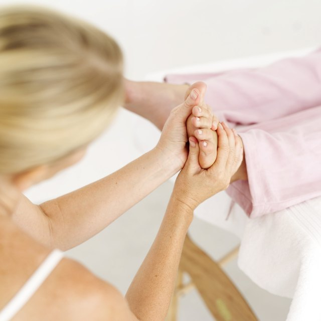 Reflexologists massage the feet to restore the balance of yin and yang.
