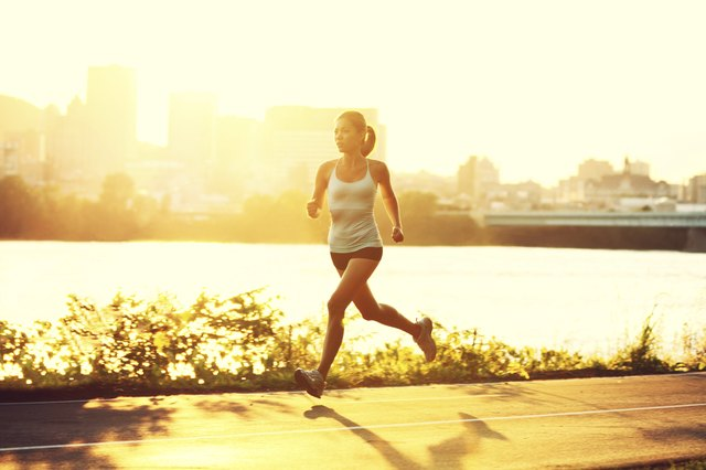 High impact exercises like running can be damaging to the knees.