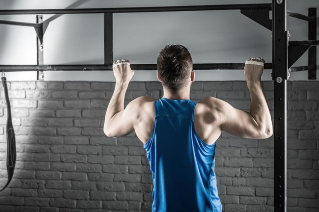 Pull-ups require a certain entry-level degree of strength.