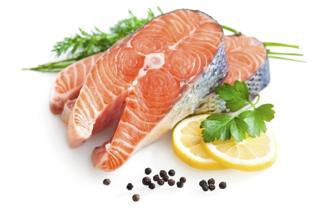 Salmon is a healthy fish.