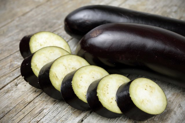 eggplant is among the medium-carbohydrate vegetables