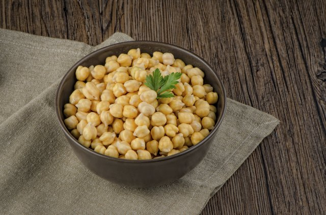 bowl of chickpeas