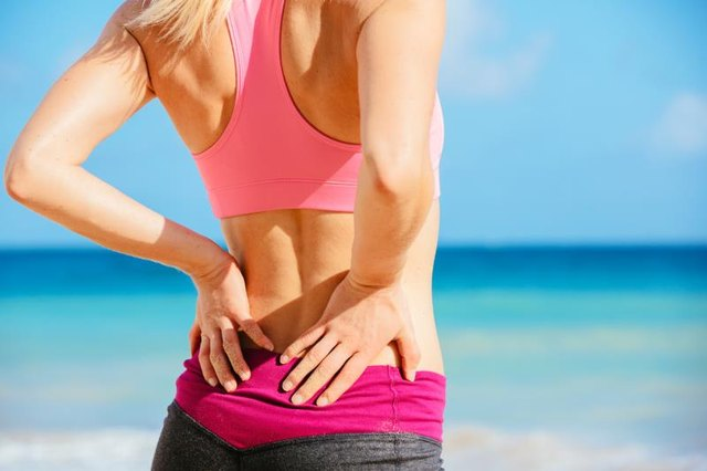 Don't let you ab workout hurt your back.
