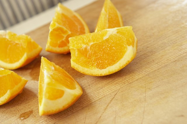 Use fresh oranges.
