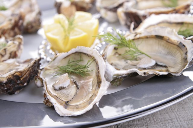 Oysters are a rich source of zinc.