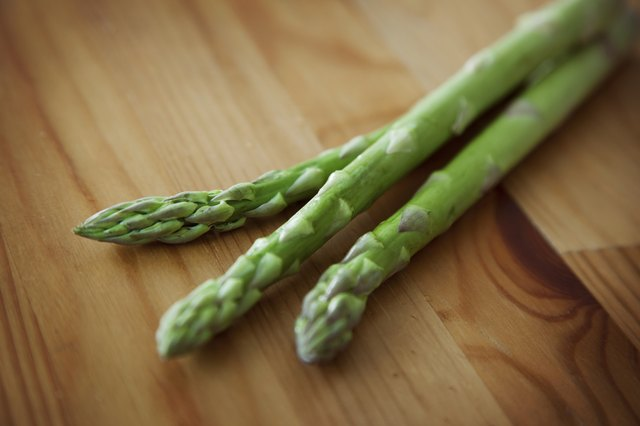 Asparagus is rich in vitamin K