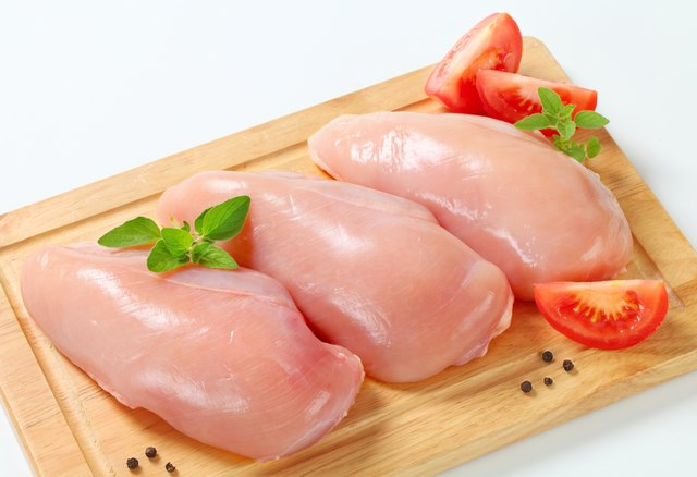 Boneless, skinless chicken.