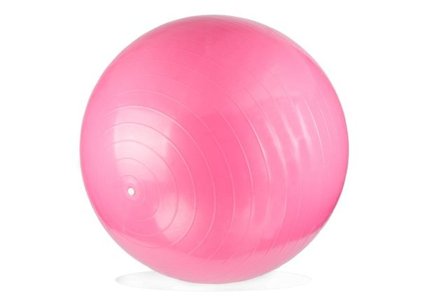 Many exercises can be performed with an exercise ball.