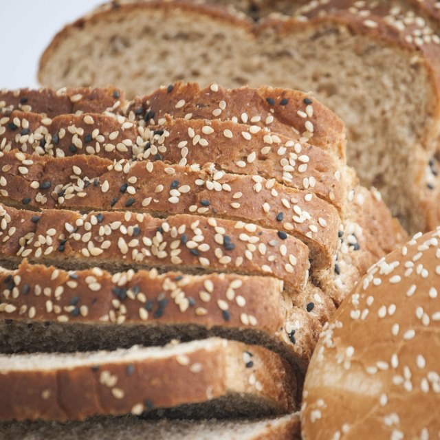 Multigrain bread contains more magnesium.