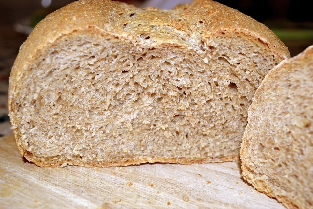 Whole wheat products have a higher calorie count.