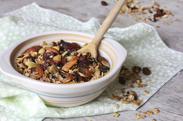 bowl of granola