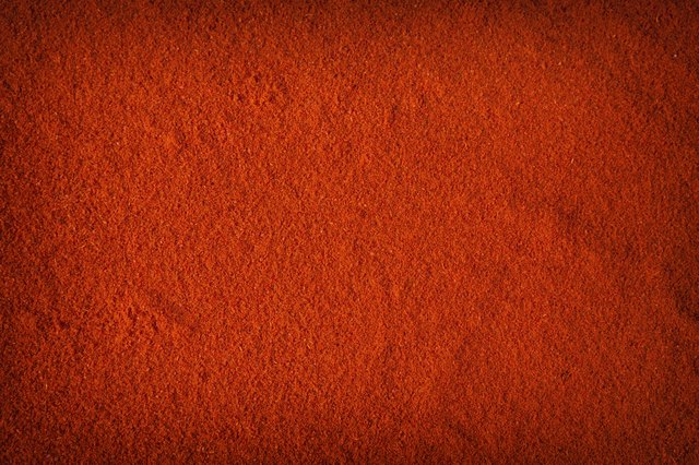 Chili powder background