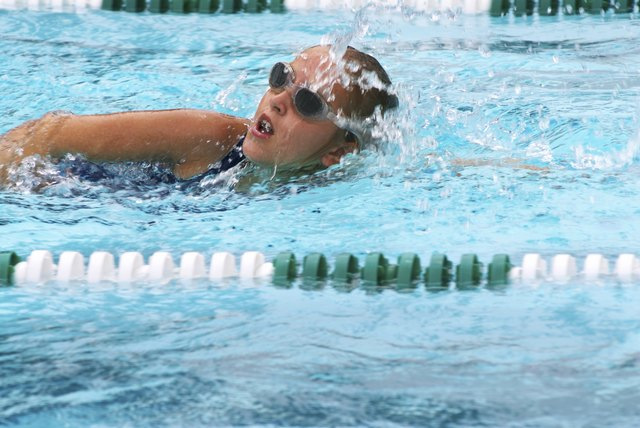 Swimming is a good cardio exercise for weight loss.