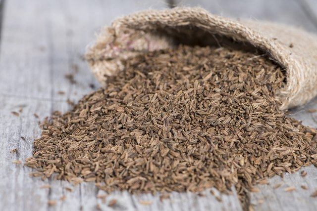 Cumin is rich in iron.