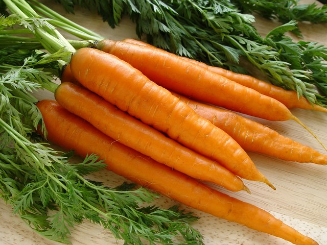carrots are a source of soluble fiber