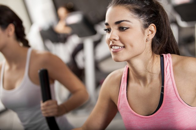 Elliptical training doesn't put a lot of impact on joints.