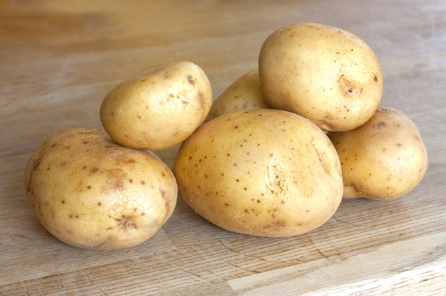 Potatoes are rich in B vitamins.